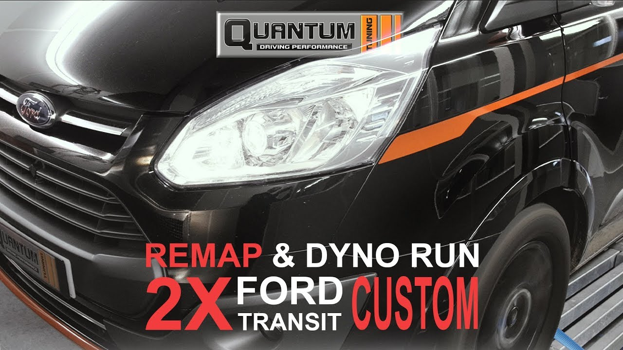 2x Ford Transit Custom ( Remap & Dyno Run )